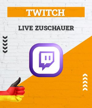 Twitch Live Zuschauer/Viewer kaufen