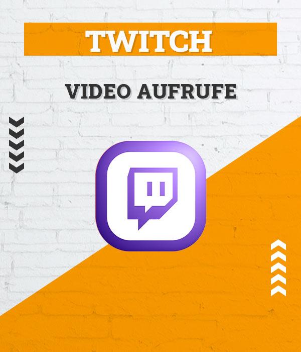 Twitch Video Aufrufe / Views kaufen