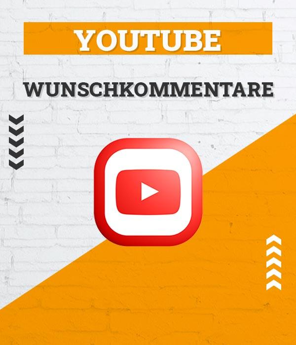 YouTube Kommentare kaufen